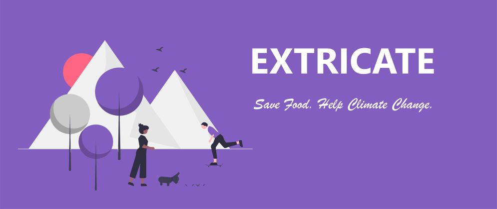 Cover image for Extricate- Food Wastage App
