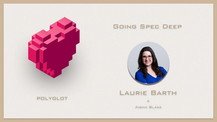 Cover image for Going Spec Deep with Laurie Barth