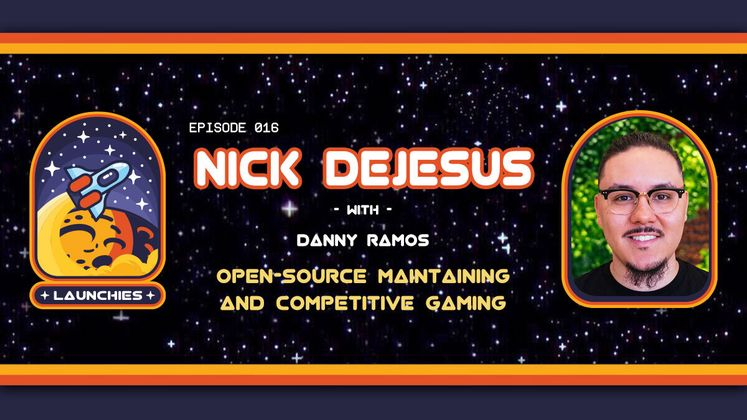 Cover image for Open-Source Maintaining and Competitive Gaming with Nick Dejesus