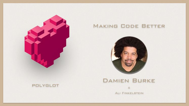 Cover image for Making Code Better with Damien Burke