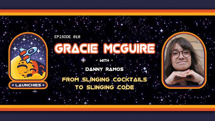 Cover image for From Slinging Cocktails to Slinging Code with Grace McGuire