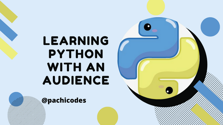Cover image for Learning Python with an Audience