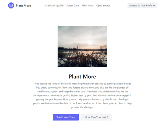 Cover image for Let's Make Our Planet Cool Again With Plant More