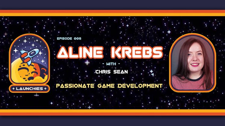 Cover image for 2D/3D Passionate Game Development with Aline Krebs